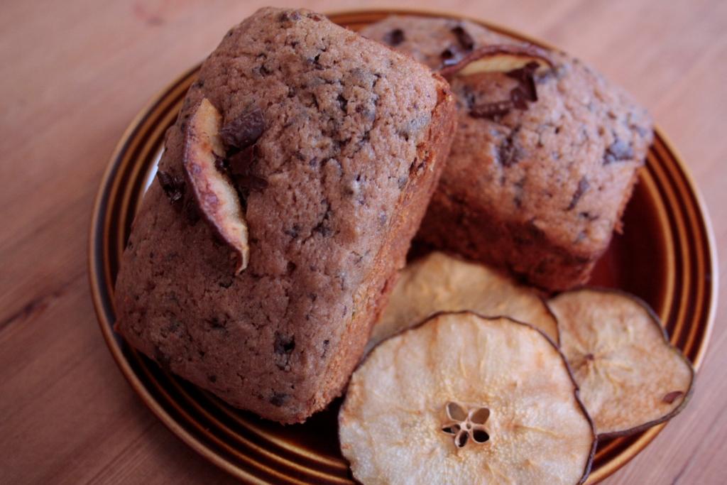 buckwheat pear loaf