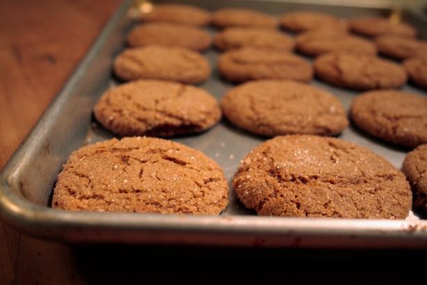 ginger blissmas cookies