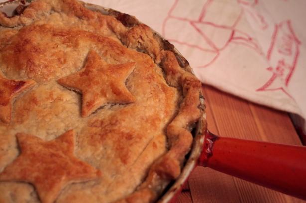flakey spelt pot pie