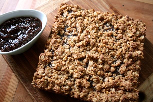 baslamic fig oat bar