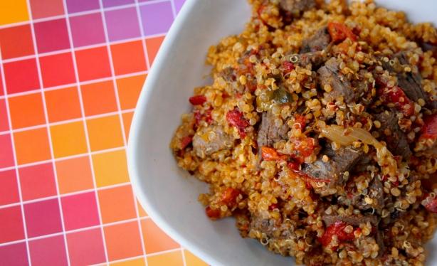 red pepper relish qunioa