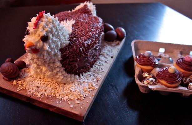 chicken cake