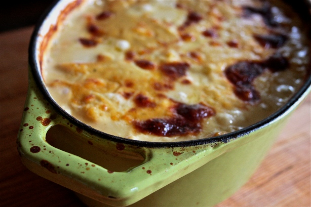 cashew califlower gratin