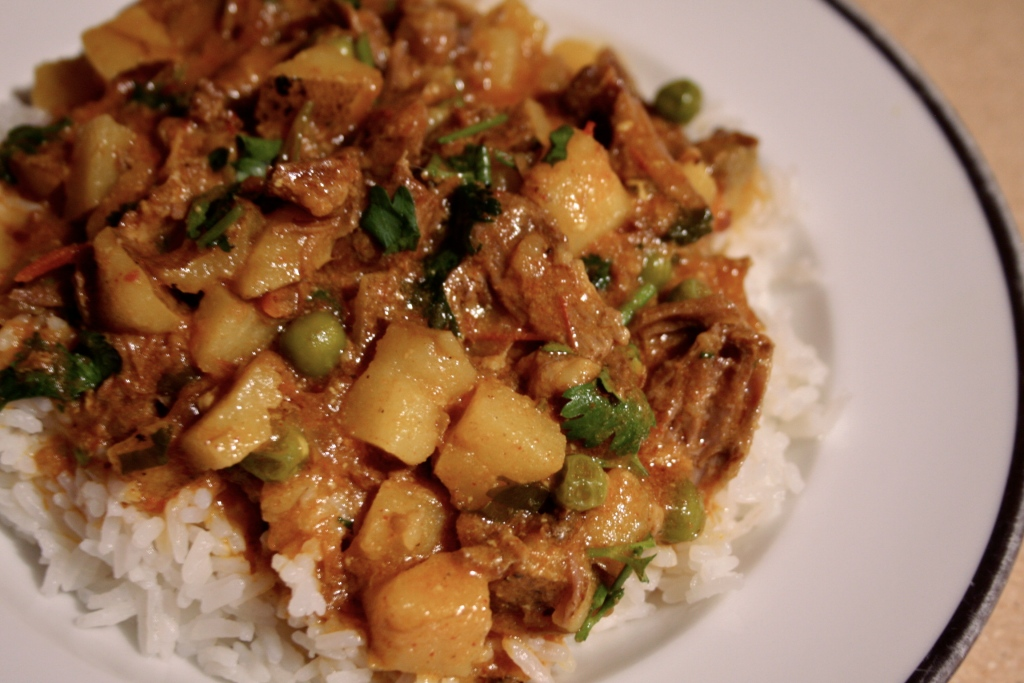 ox tail curry