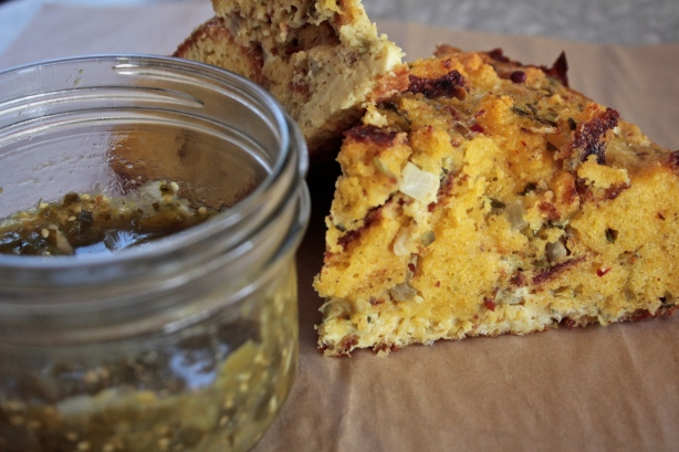 wife saver with corn bread