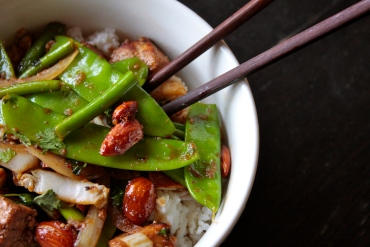 Snow Pea Summer Stir Fry